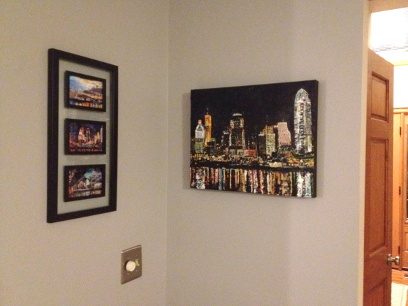 Fine art captured in a home by a happy customer.