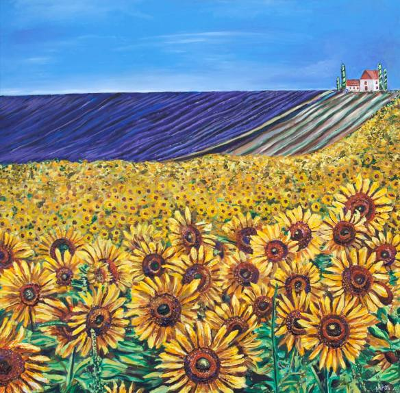 Fields of Sunflowers and Lavender, Final