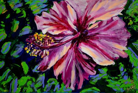 Unbound Hibiscus
