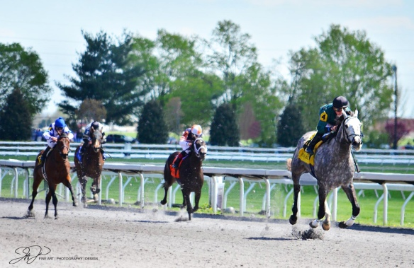 Race at Keeneland