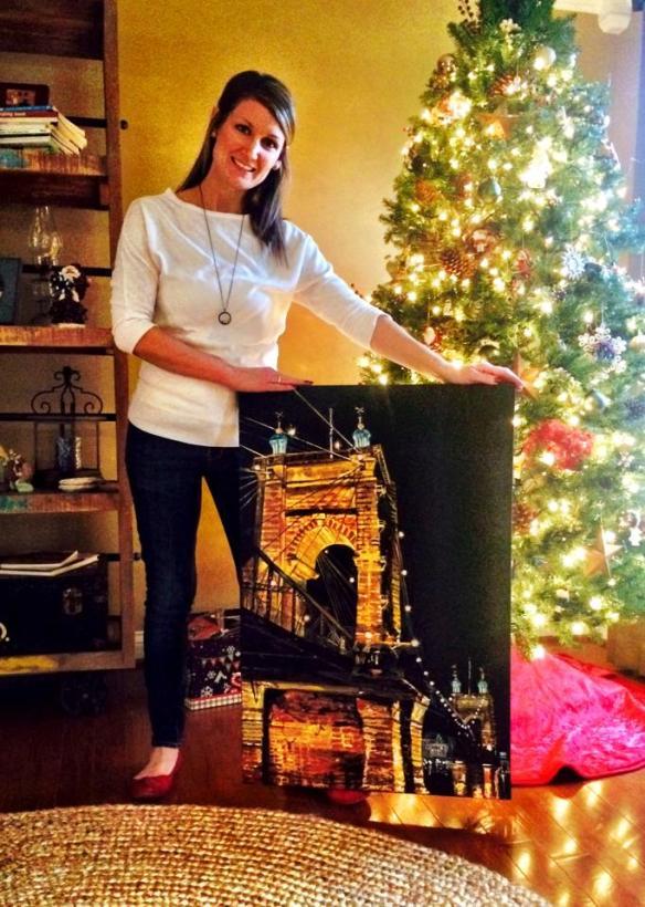 Golden Evening Suspension   2014 Christmas Gift