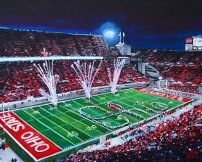 The Shoe at OSU | 20″ x 24″ acrylic on canvas ~ SOLD