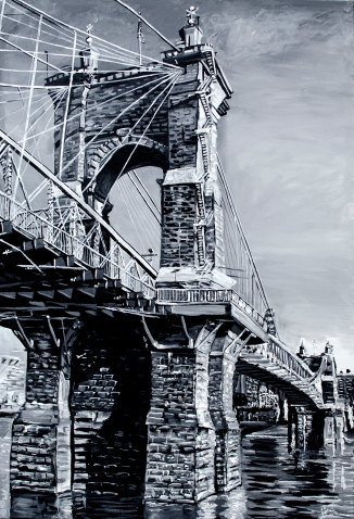 """The Roebling Bridge, a Kentucky Perspective 